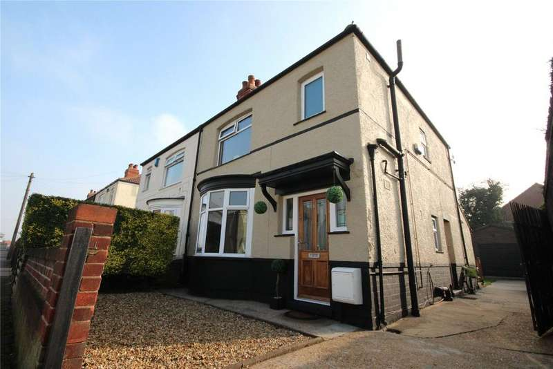 3 Bedrooms Semi Detached House for sale in Miller Avenue, Old Clee, DN32
