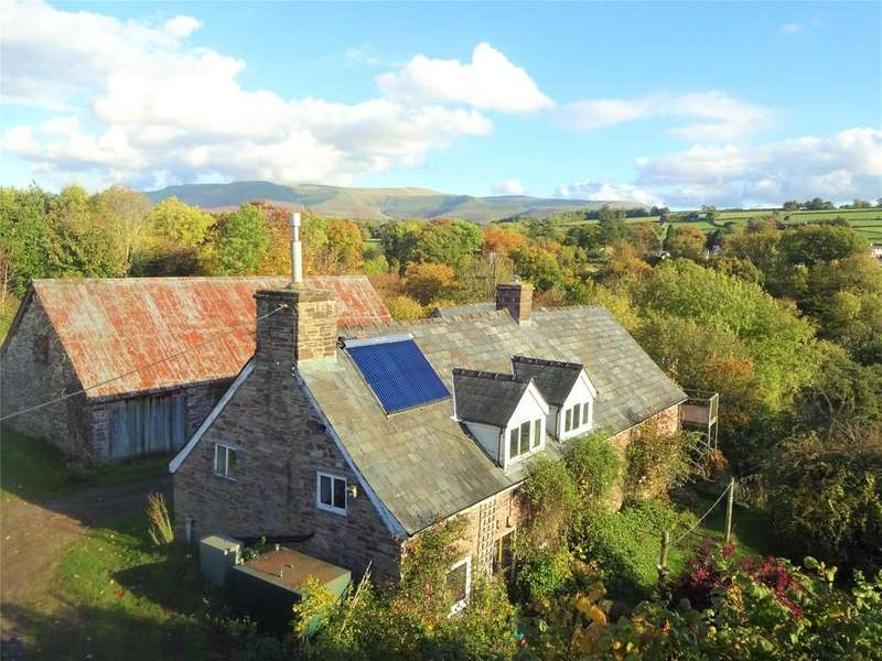 3 Bedrooms Barn Conversion Character Property for sale in Tredustan, Talgarth, Brecon, Powys