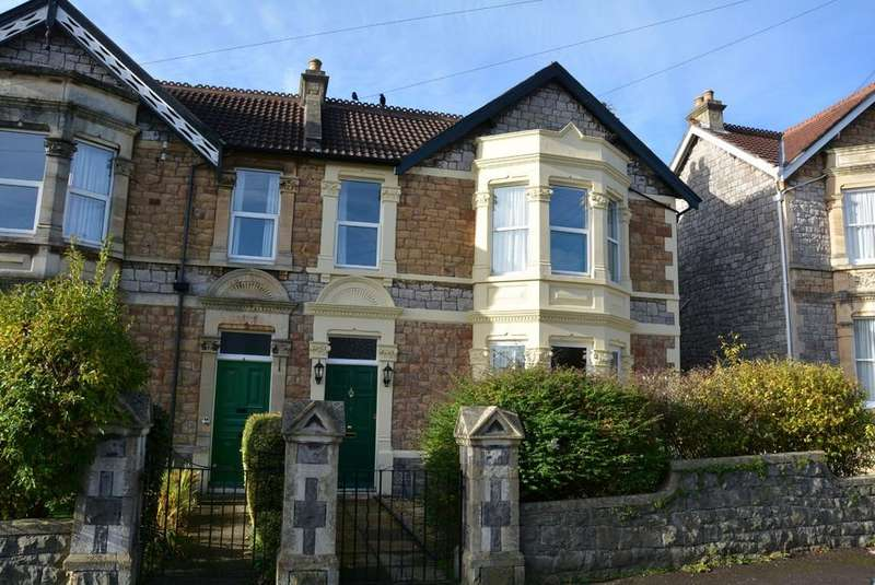 4 Bedrooms Semi Detached House for sale in Ashcombe Gardens, Weston-super-Mare