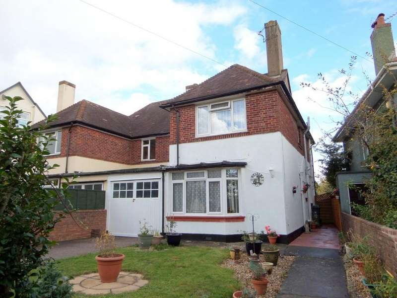 3 Bedrooms Semi Detached House for sale in Phillipps Avenue, Exmouth