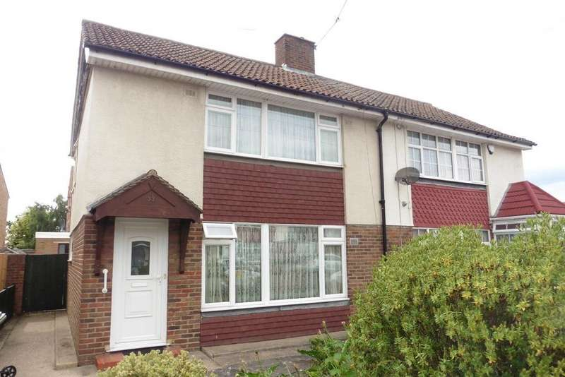 3 Bedrooms Semi Detached House for sale in St Mary's Avenue, Stanwell, TW19