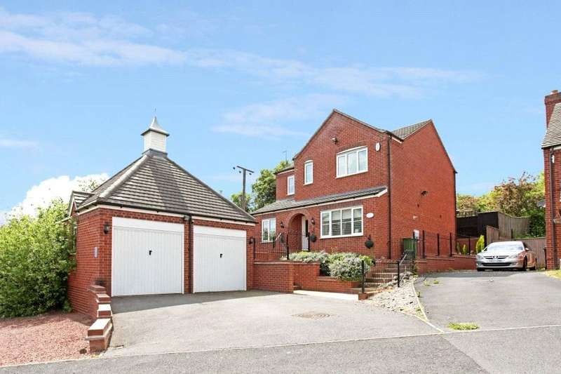 4 Bedrooms Detached House for sale in Tibberton, Droitwich, Worcestershire