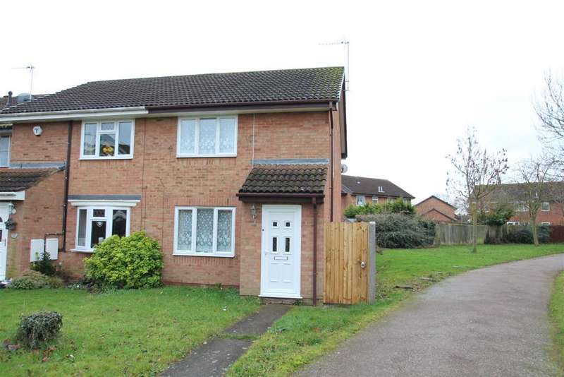2 Bedrooms End Of Terrace House for sale in Friary Gardens, Newport Pagnell