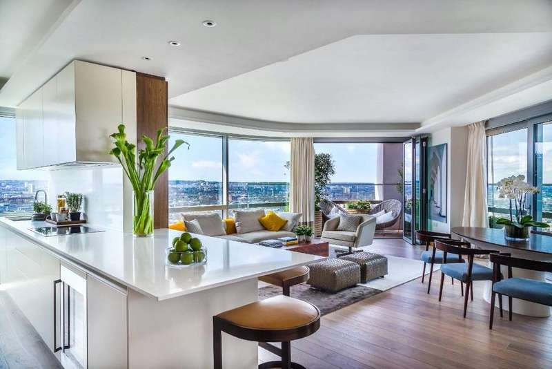 3 Bedrooms Penthouse Flat for sale in Canaletto, 257 City Road, London