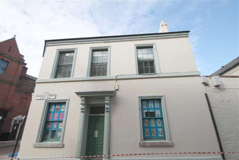 Studio Flat for sale in The Feathers, Wrexham, Wrexham