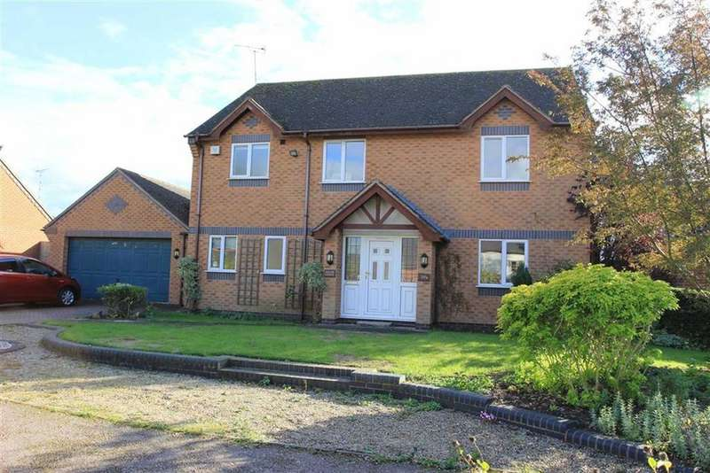3 Bedrooms Detached House for sale in Gaulby Lane, Stoughton, Leicester