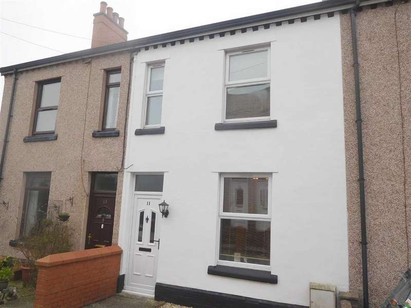 2 Bedrooms Terraced House for sale in Albert Avenue, Brymbo, Wrexham
