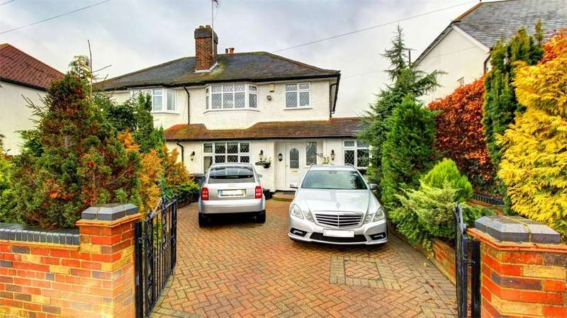 4 Bedrooms Semi Detached House for sale in Gravel Road, Bromley, Kent