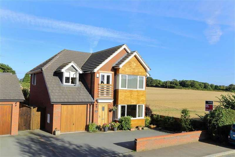 4 Bedrooms Detached House for sale in Pradoe View, West Felton, SY11