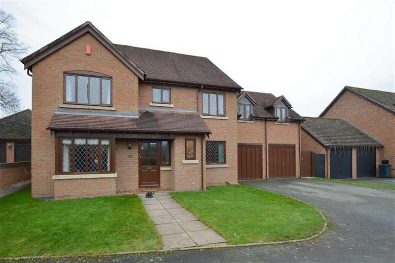 5 Bedrooms Detached House for sale in Bowbrook Grange, Shrewsbury