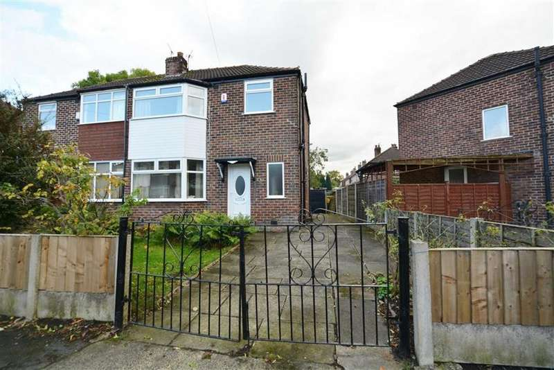 3 Bedrooms Semi Detached House for sale in Derwent Road, Flixton, Manchester