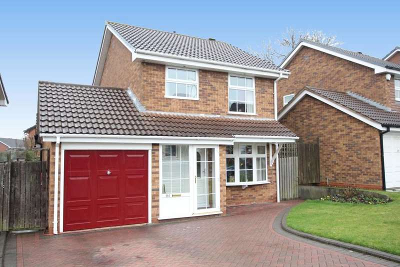 3 Bedrooms Detached House for sale in Sir Alfreds Way, New Hall, Sutton Coldfield. B76 1EQ