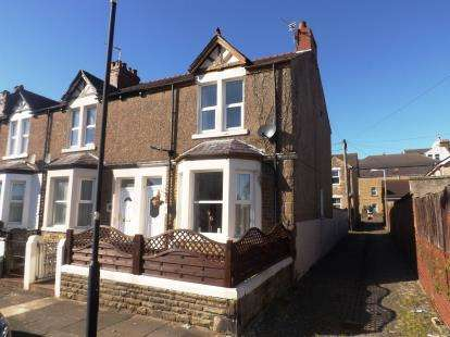 3 Bedrooms End Of Terrace House for sale in Lake Road, Morecambe, Lancashire, LA3