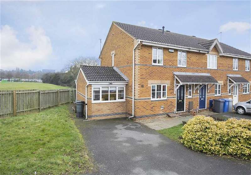 3 Bedrooms End Of Terrace House for sale in Redgrave Close, Kettering