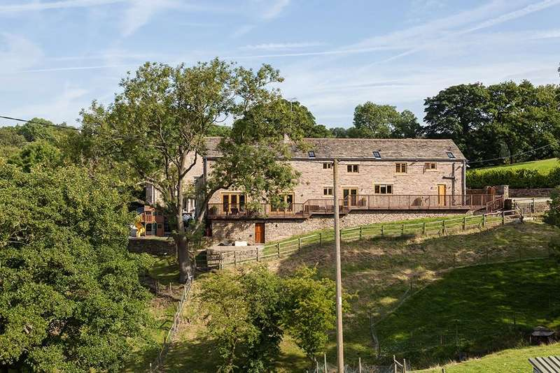5 Bedrooms Barn Conversion Character Property for sale in Mill Brow, Marple Bridge