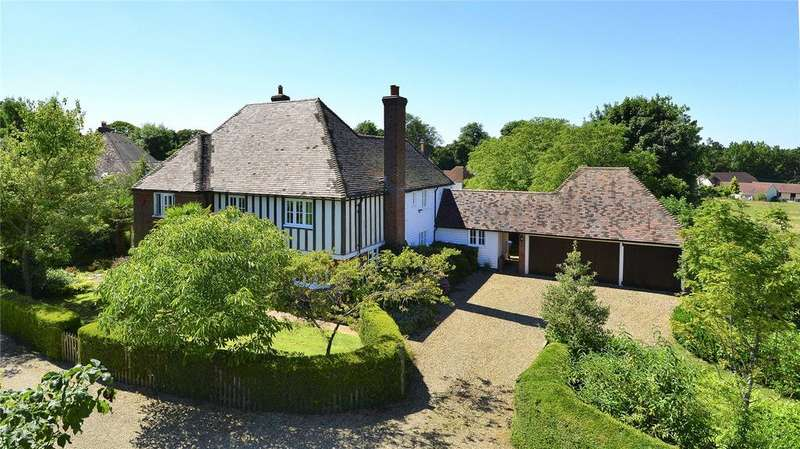 5 Bedrooms Detached House for sale in Wootton Drive, Garlinge Green Road, Petham, Canterbury, Kent, CT4