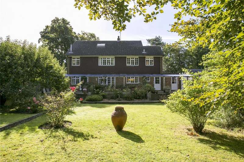 5 Bedrooms Detached House for sale in Cowden Pound Road, Markbeech, Edenbridge, Kent, TN8