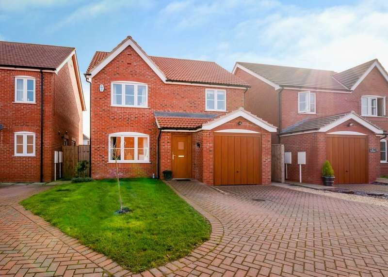 4 Bedrooms Detached House for sale in Laurel Close , Finningley