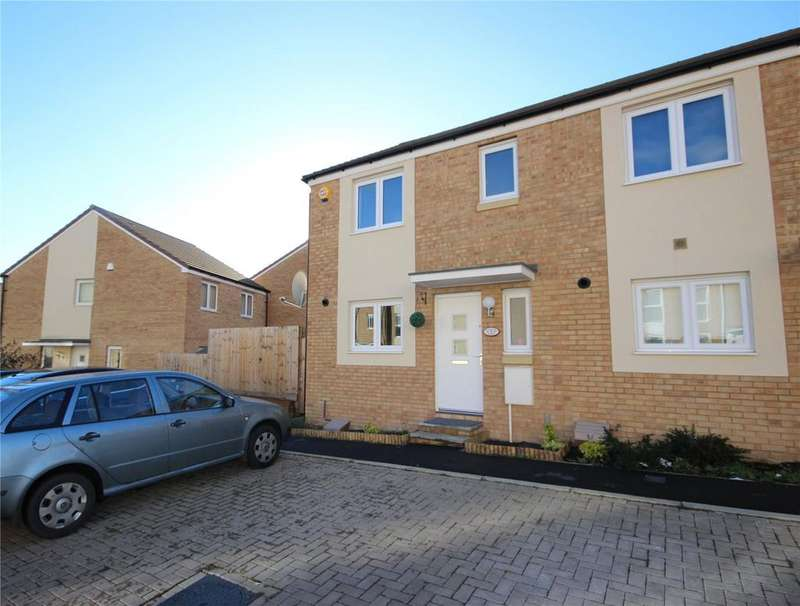 3 Bedrooms End Of Terrace House for sale in Tall Elms Road, Charlton Hayes, Patchway, Bristol, BS34