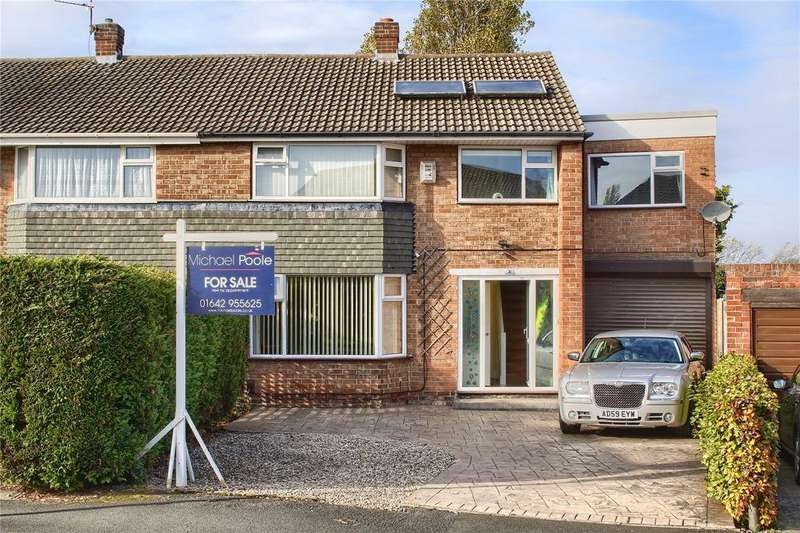 4 Bedrooms Semi Detached House for sale in The Willows, Marton