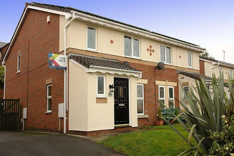 4 Bedrooms Semi Detached House for sale in 26 Hurstwood Close, Oldham