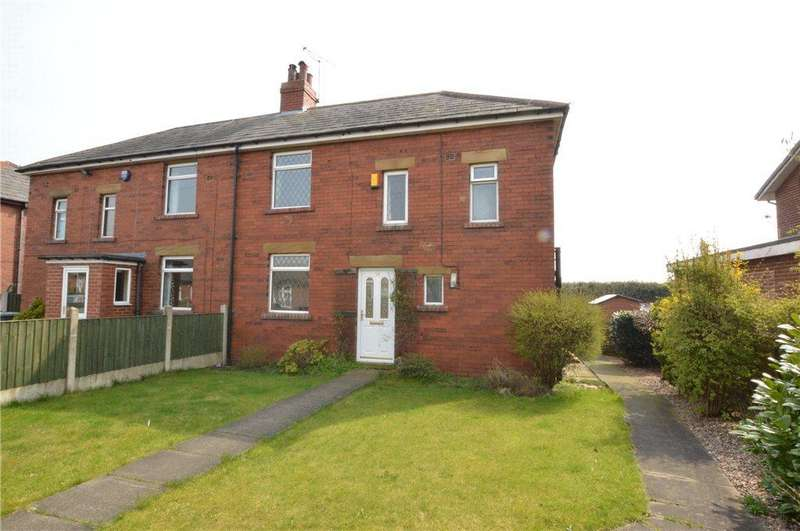 3 Bedrooms Semi Detached House for sale in Woodview, Drighlington, Bradford