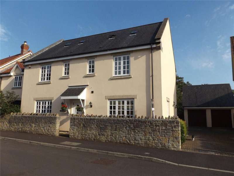 4 Bedrooms Link Detached House for sale in Orchard Close, Wedmore, Somerset, BS28