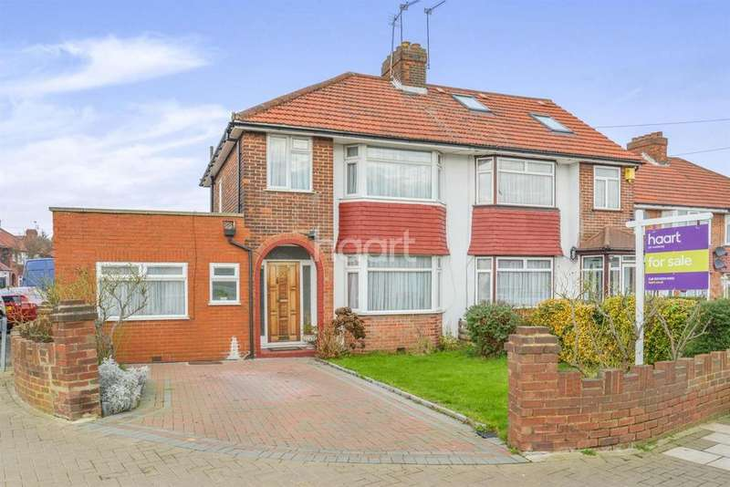 4 Bedrooms Semi Detached House for sale in Greencourt Avenue, Edgware, HA8