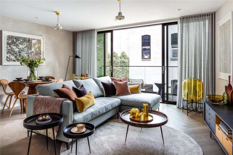 2 Bedrooms Flat for sale in Snowsfields Yard, 6 - 16 Melior Street, London, SE1