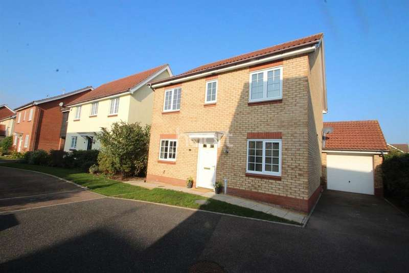 4 Bedrooms Detached House for sale in Turnbull Close Kesgrave