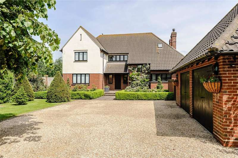 5 Bedrooms Detached House for sale in Ashwell Road, Bygrave, Baldock, Hertfordshire