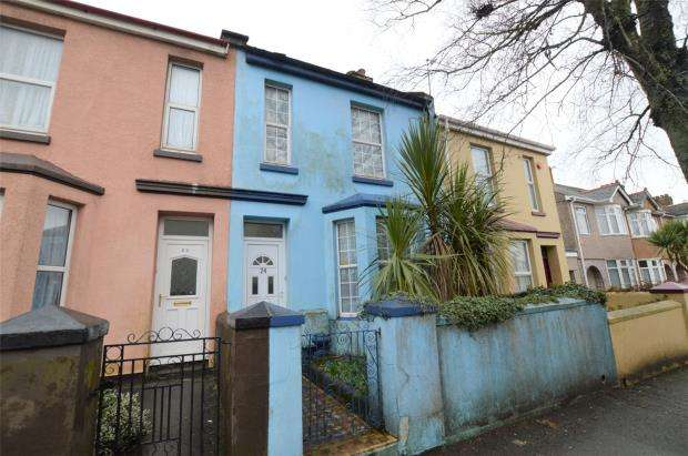 2 Bedrooms Terraced House for sale in Coombe Park Lane, Plymouth, Devon