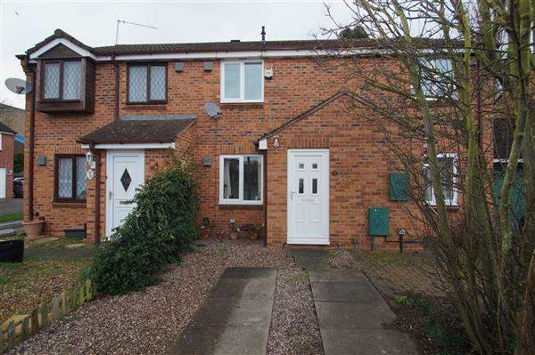 2 Bedrooms Terraced House for sale in Pearl Gardens, Cippenham, Slough