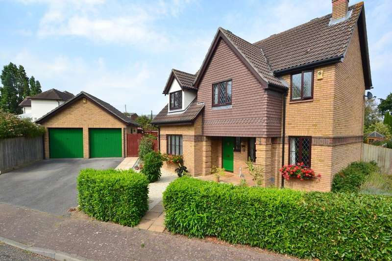 4 Bedrooms Detached House for sale in Vellacotts, Chelmsford
