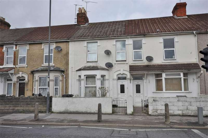 4 Bedrooms Terraced House for sale in Manchester Road, Swindon, Wiltshire, SN1