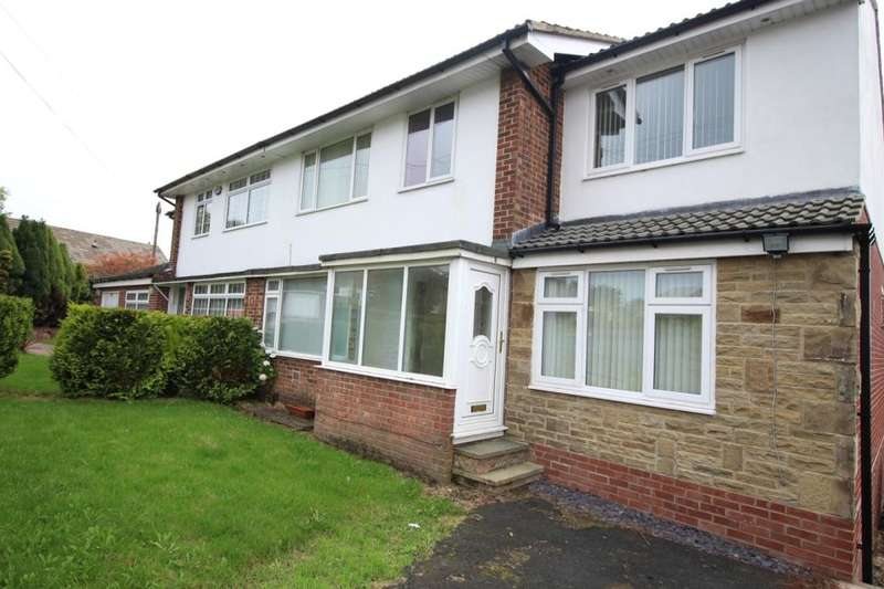 4 Bedrooms Semi Detached House for sale in Belmont Crescent, Low Moor, Bradford, BD12