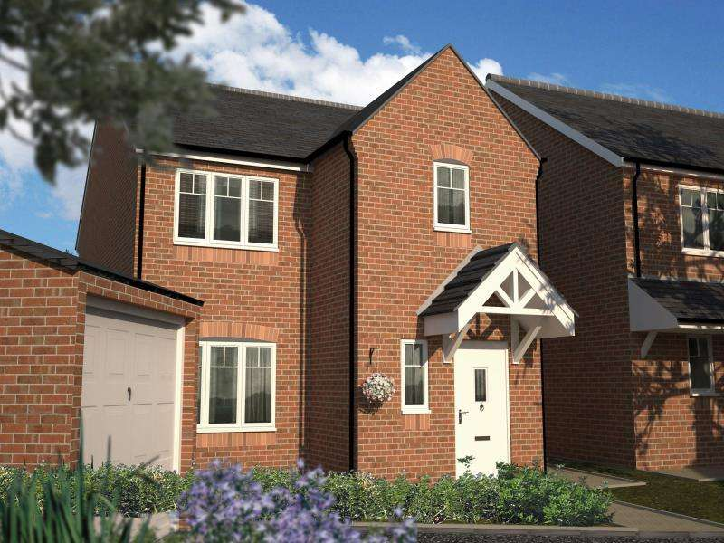 3 Bedrooms Detached House for sale in PLOT 6 - THE NEWSHAM, MOORE PARK, HEALDFIELD COURT, CASTLEFORD, WF10 4TU