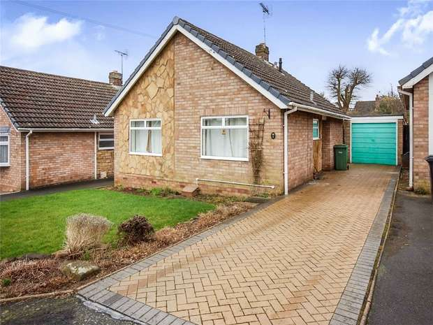 2 Bedrooms Detached Bungalow for sale in Greenleys Crescent, Alveley, BRIDGNORTH, Shropshire