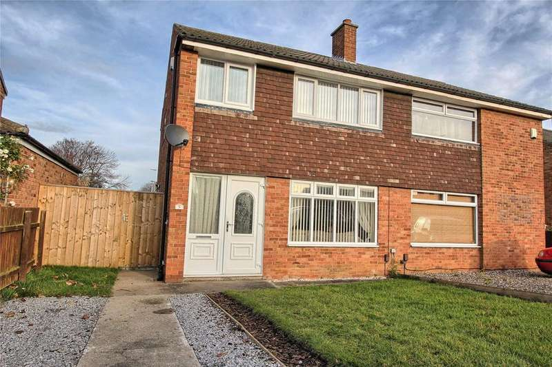 3 Bedrooms Semi Detached House for sale in Cunningham Drive, Thornaby