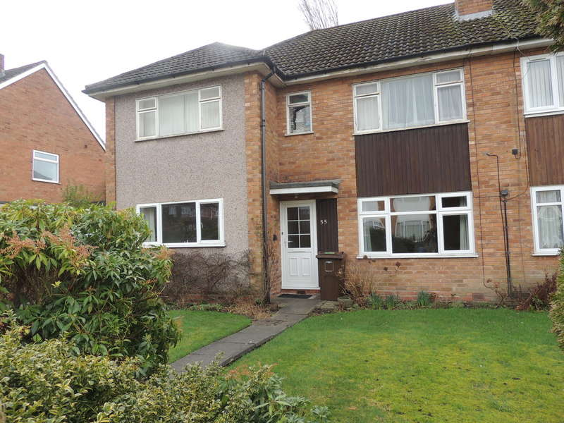 2 Bedrooms Ground Maisonette Flat for sale in Milton Road, Bentley Heath