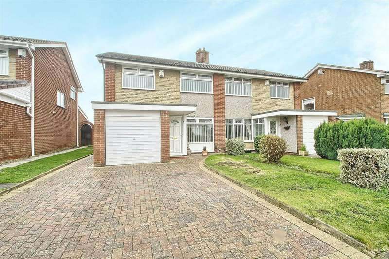 3 Bedrooms Semi Detached House for sale in Chadderton Drive, Thornaby