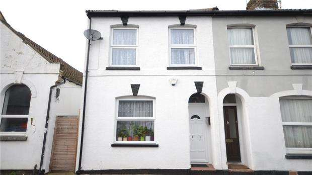 2 Bedrooms End Of Terrace House for sale in Albert Road, Aldershot, Hampshire