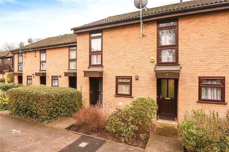 2 Bedrooms Terraced House for sale in Lambourne Court, St. Johns Close, Uxbridge, Middlesex, UB8
