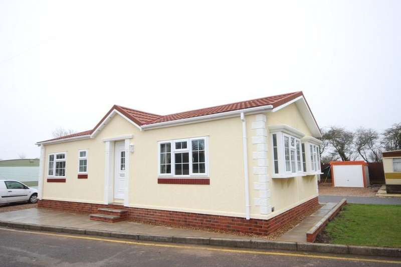 2 Bedrooms Park Home Mobile Home for sale in Moorlands Park, Ashby Road, Sinope