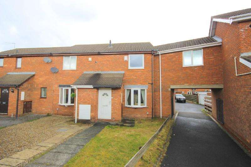 2 Bedrooms Terraced House for sale in Carlton Close Ouston, Chester Le Street