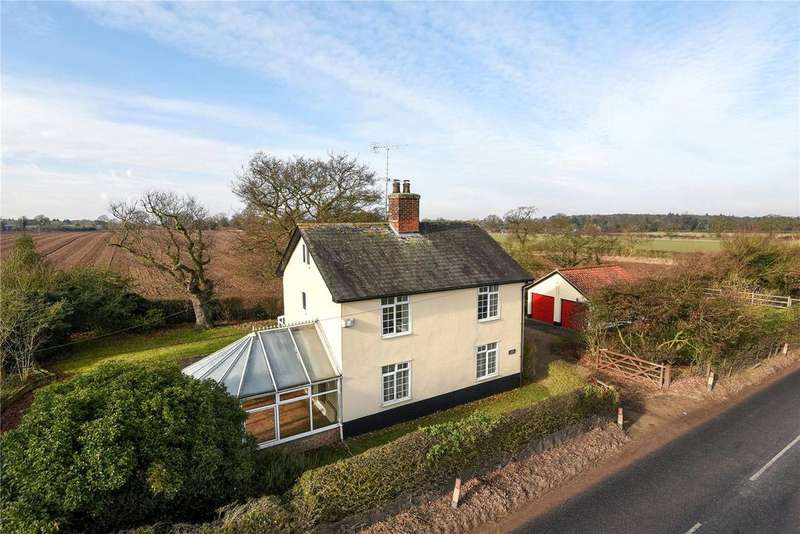 4 Bedrooms Detached House for sale in Coalpit Lane, Higham, Bury St Edmunds, Suffolk, IP28