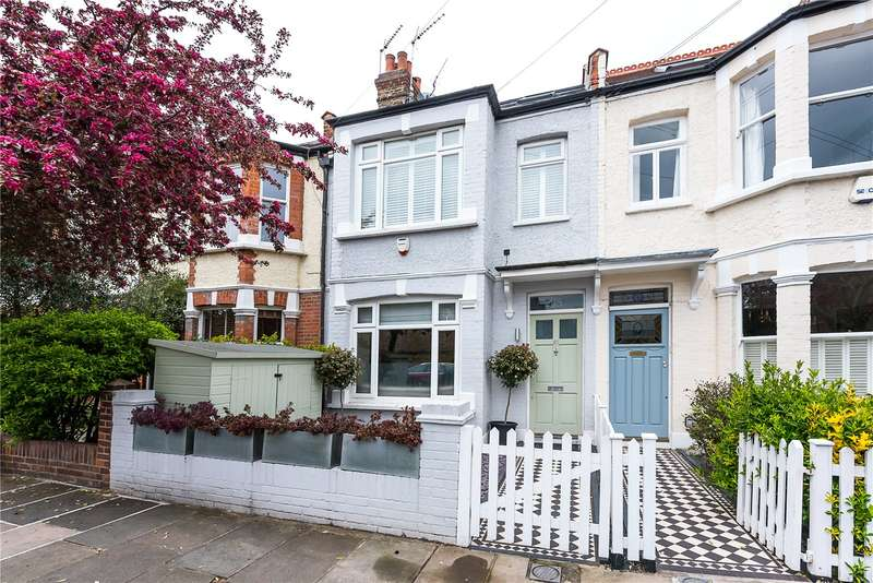 4 Bedrooms Terraced House for sale in Grosvenor Avenue, East Sheen, SW14