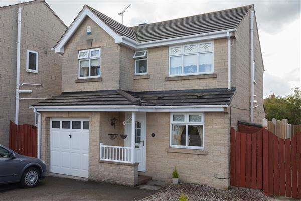 4 Bedrooms Detached House for sale in Stoneleigh Close, off Swinston Hill Road, Dinnington