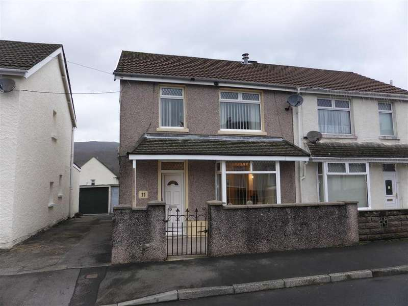3 Bedrooms Semi Detached House for sale in 11 Cedar Street, Cwmgwrach, Glynneath