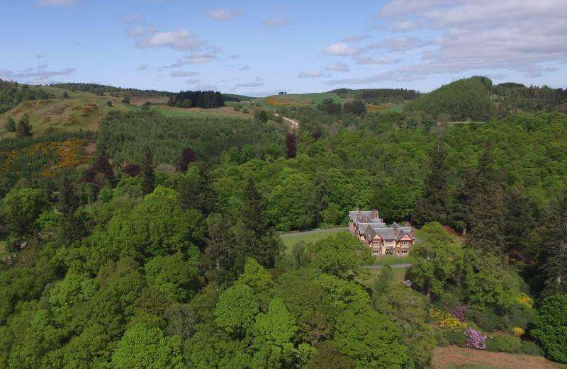 11 Bedrooms Detached House for sale in Dungarthill House, By Dunkeld, Perthshire